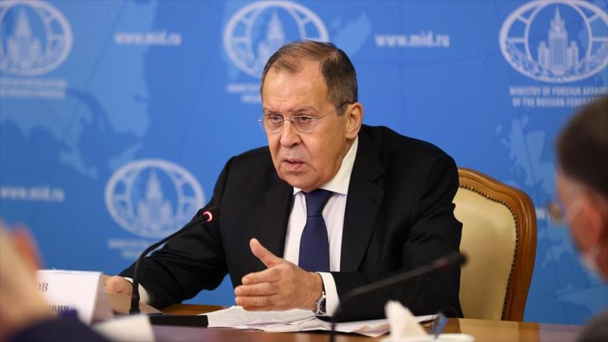 El canciller ruso, Serguéi Lavrov.