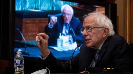 """Sanders a Biden: Yemen necesita ayuda """"no bombas y bloqueos"""""""