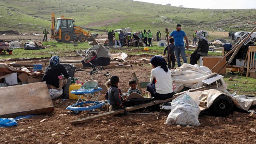 ONU urge a Israel a detener la demolición de aldeas palestinas