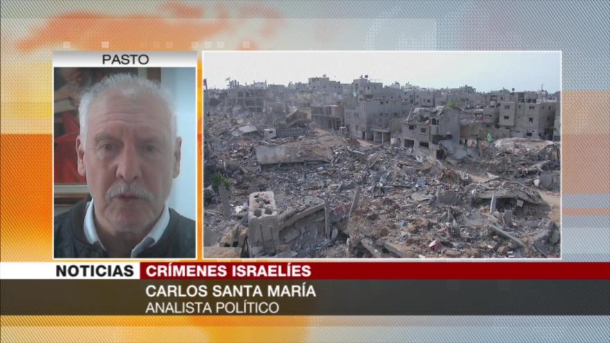 Santa María: CPI no puede obligar a Israel a admitir sus crímenes