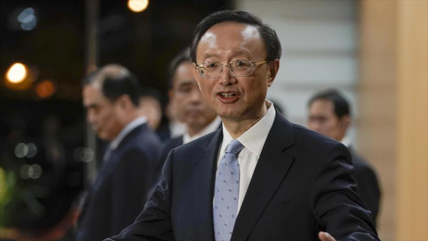 Yang Jiechi, director de la Comisión Central de Asuntos Exteriores del Partido Comunista de China.