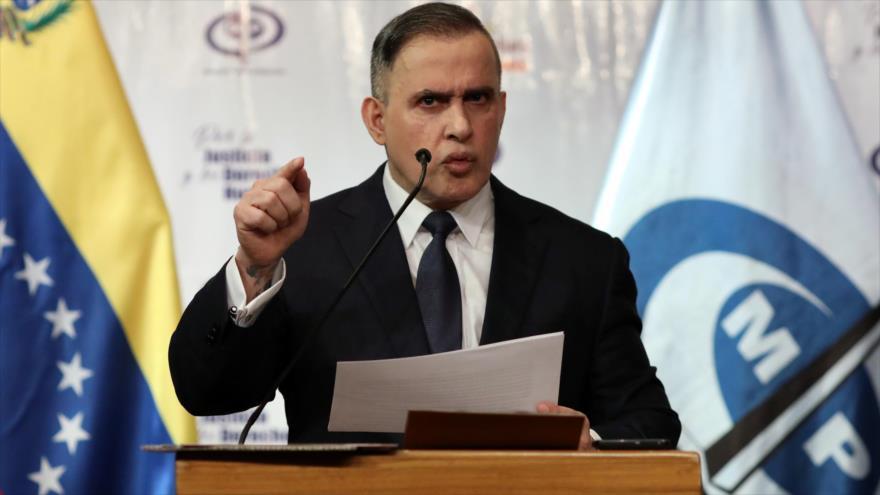 El fiscal general de Venezuela, Tarek William Saab, en un programa televisivo.