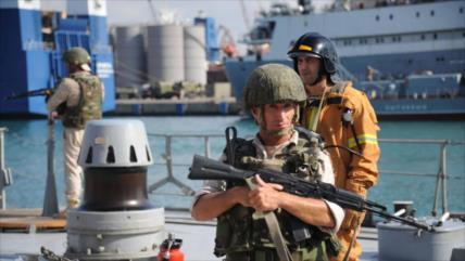 Vídeo: Fuerzas rusas celebran maniobras contra sabotajes en Tartus