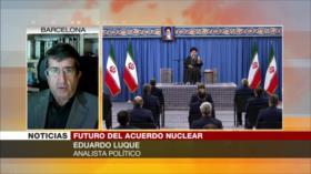 Luque: Renegociar el PIAC es para desarmar a Irán ante Israel