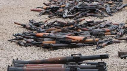 Fotos: Ejército sirio incauta a Daesh una gran cantidad de armas