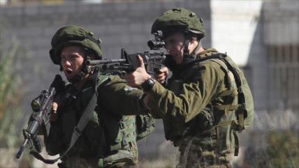 4 palestinos resultaron heridos por disparos de fuerzas israelíes