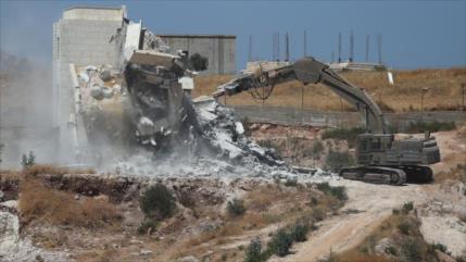 ONU: Israel demolió 69 viviendas palestinas en dos semanas