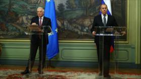 """Rusia expresa """"sorpresa"""" por comentarios contradictorios de Borrell"""