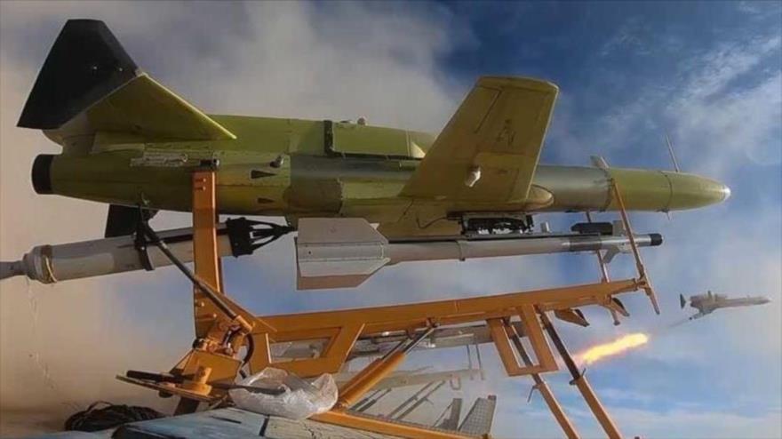 Vídeo muestra momento del disparo de misil desde un dron iraní | HISPANTV