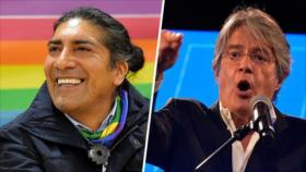 CNE de Ecuador da leve ventaja a Yaku Pérez sobre Guillermo Lasso