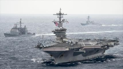Mala gestión: COVID-19 golpea a tripulación de portaviones de EEUU