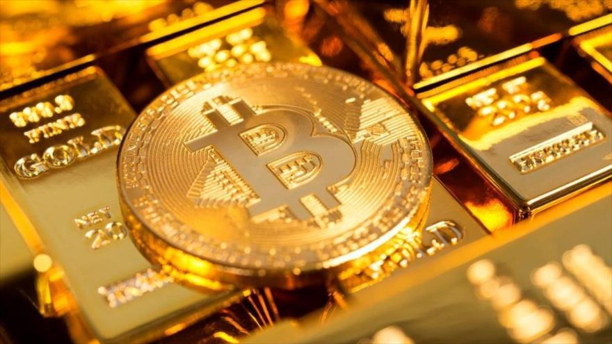 Bitcóin, criptomoneda más popular del mundo.