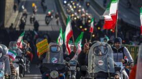 En vivo: Iraníes festejan el 42.º aniversario de la Revolución