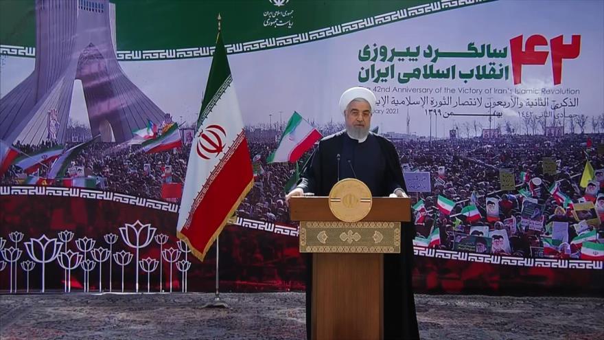 Irán destaca fracaso de EEUU en aniversario de Revolución Islámica