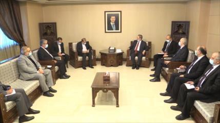 Irán y Siria refuerzan sus cooperaciones en diferentes ámbitos
