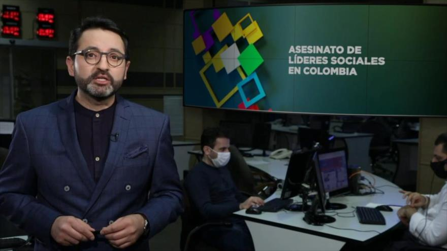 Buen día América Latina: Asesinato de líderes sociales en Colombia