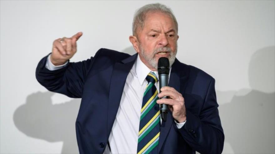 Lula urge a brasileños a despertar de anestesia y frenar a Bolsonaro