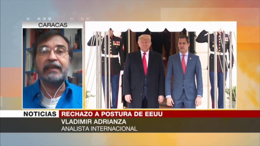 Adrianza: EEUU lleva 22 años buscando tumbar Revolución Bolivariana