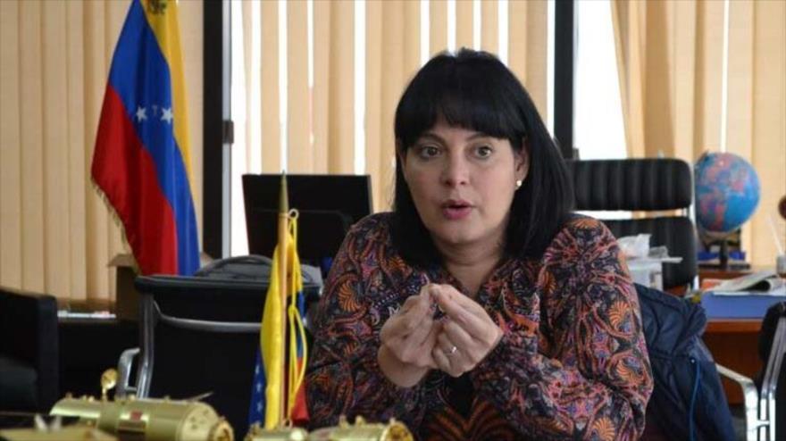Ministra de Ciencia y Tecnología de Venezuela, Gabriela Jiménez, en una entrevista con la cadena local Unión Radio, 7 de julio de 2020.