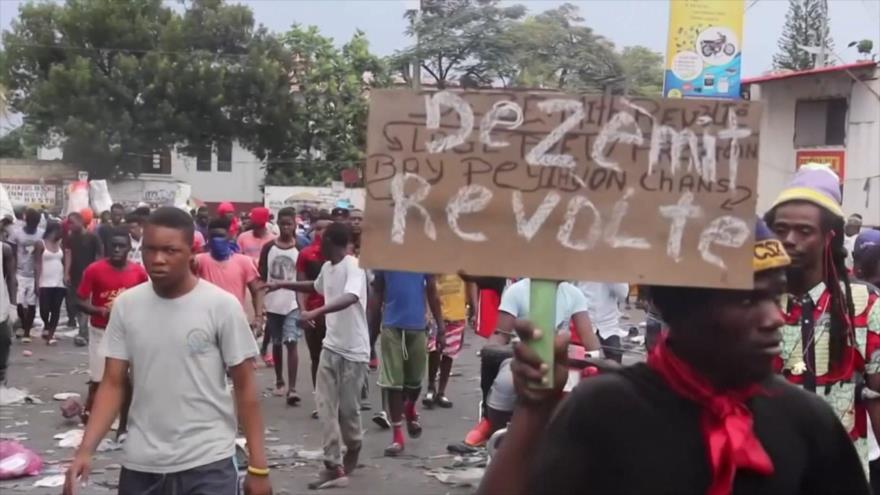 Crece la ola de violencia política y represión en Haití | HISPANTV