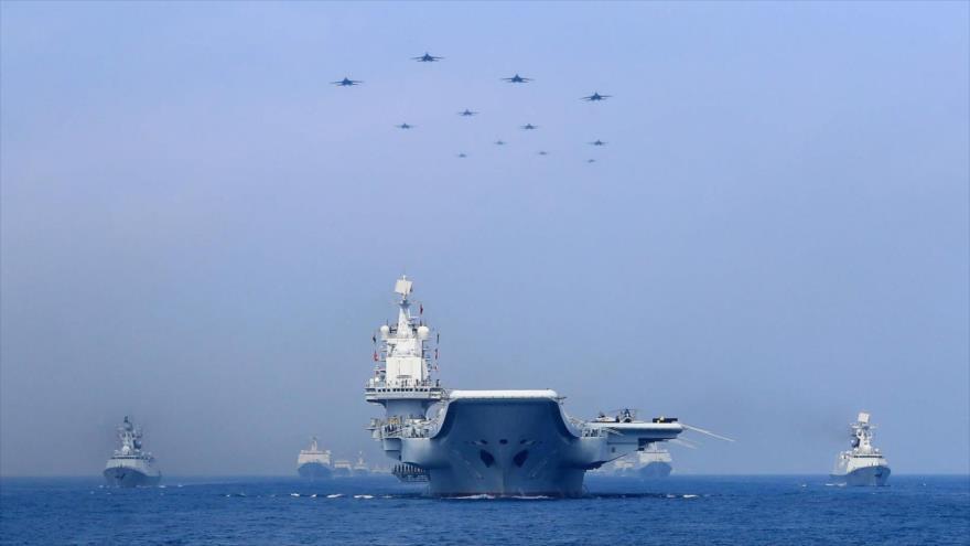 China blinda mar del Sur con patrullas aéreas y navales ante EEUU | HISPANTV