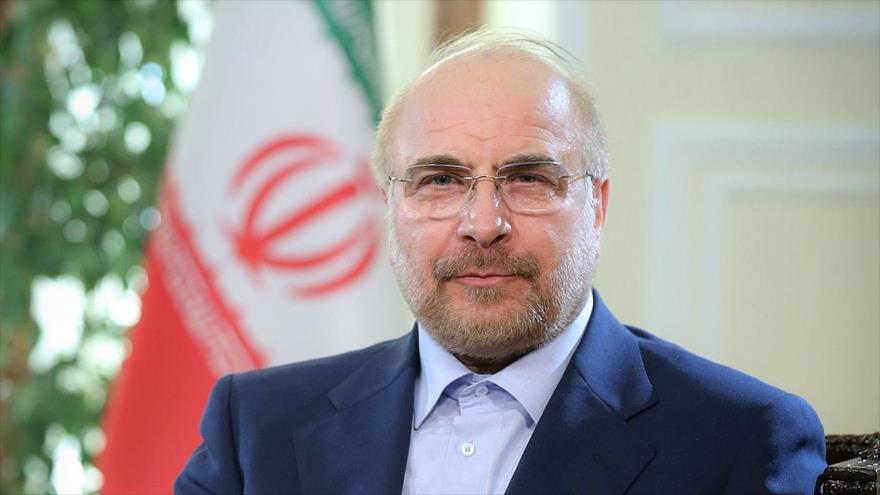 El presidente del Parlamento iraní, Mohamad Baqer Qalibaf.