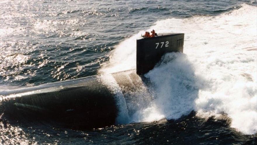 El submarino USS Greeneville (SSN 772).