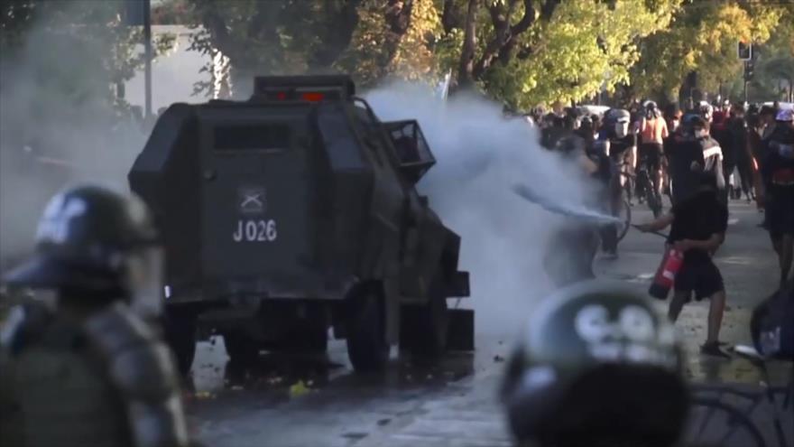 Violencia policial salta las alarmas en Chile