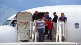 Sigue la deportación de migrantes hondureños