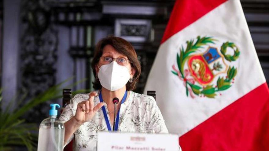 La ministra peruana de Salud, Pilar Mazzetti