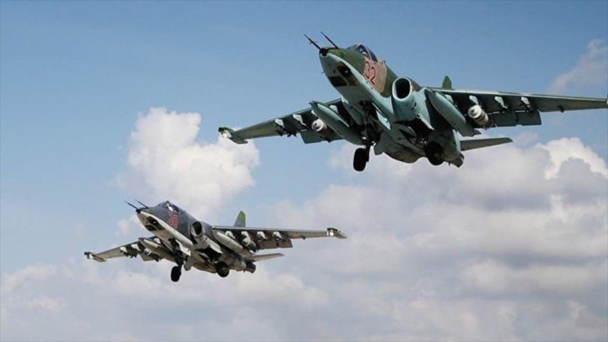 Rusia ataca 700 veces en 10 días puestos de Daesh en Siria   HISPANTV