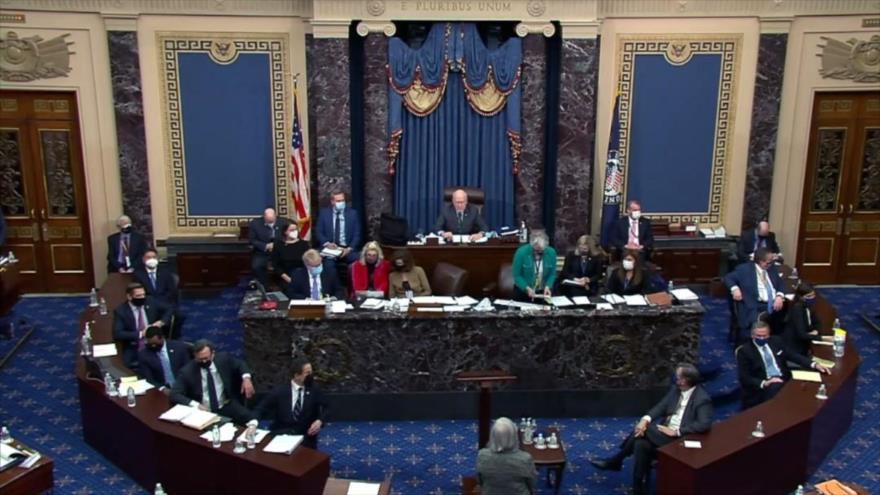 Senado de EEUU absuelve a Trump en juicio político | HISPANTV