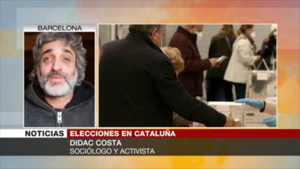 Costa: La democracia en España es frágil y duramente reprimida