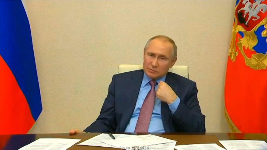 Putin: Occidente utiliza a Navalni como pretexto para contener a Rusia   HISPANTV