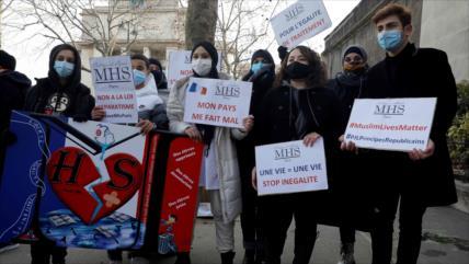Protestan en Francia contra un proyecto de ley antimusulmán