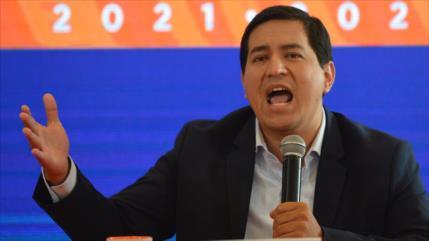 """Andrés Arauz denuncia """"jugarretas políticas"""" del Gobierno de Moreno"""