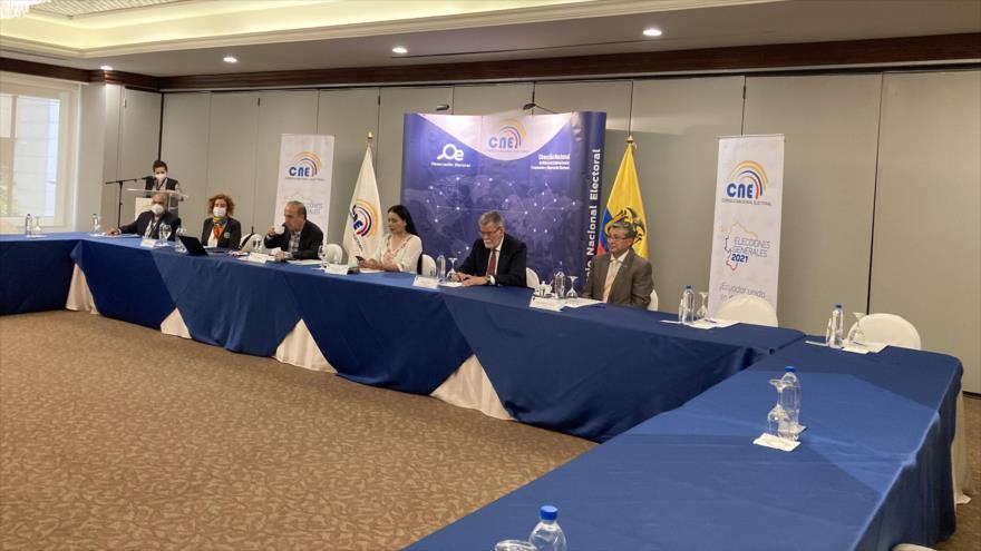 CNE de Ecuador recuenta votos para definir segundo contendiente | HISPANTV
