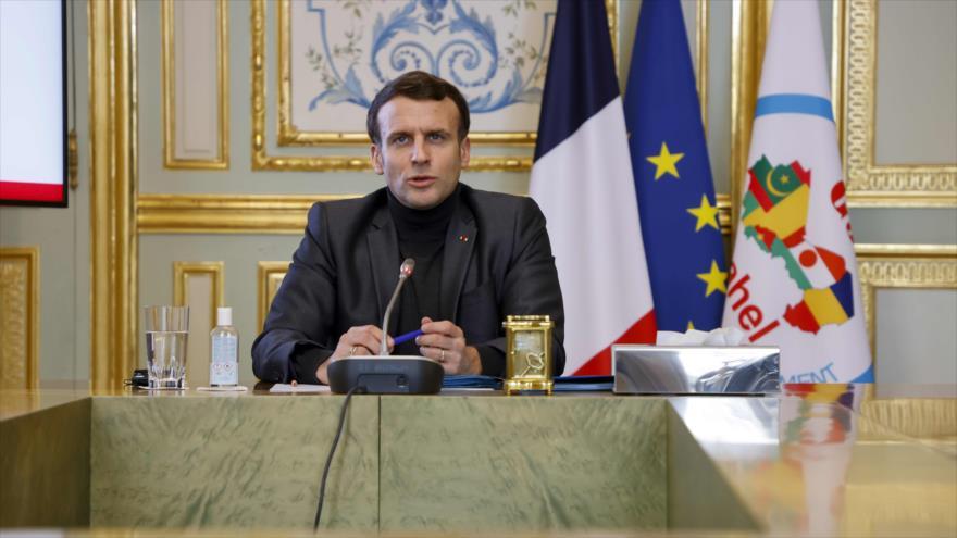 Macron trata de justificar presencia militar de Francia en África | HISPANTV