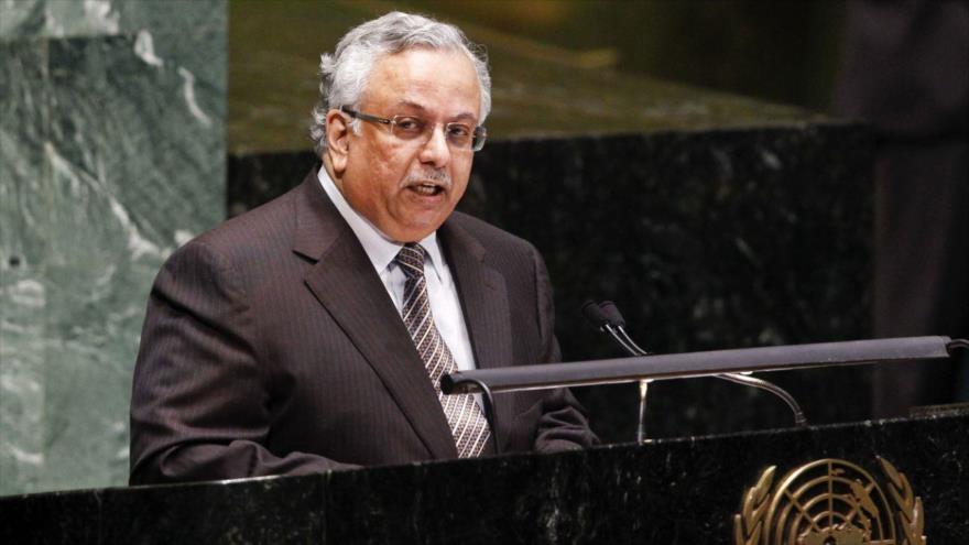 El embajador saudí ante la Organización de las Naciones Unidas (ONU), Abdolá al-Mouallimi.