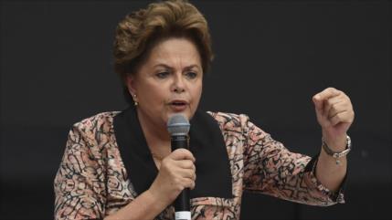 Rousseff pide movimientos como los de Arce y Arauz en Latinoamérica