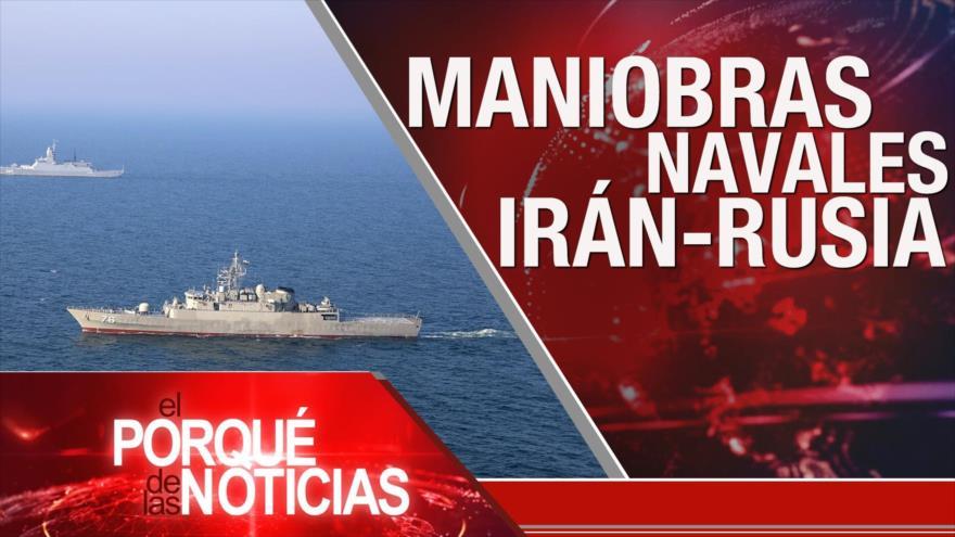 El Porqué de las Noticias:Discurso de Nasralá. Maniobra Irán-Rusia. Política colombiana