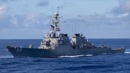 EEUU aviva tensión con China enviando un barco al mar Meridional