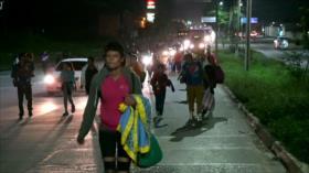 Migrantes hondureños preparan nueva caravana