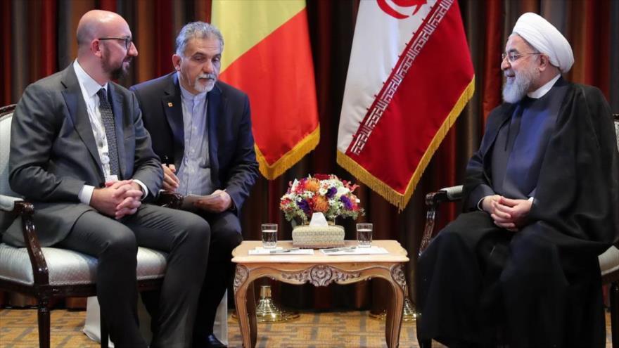 Rohani urge a la Unión Europea a actuar para salvar pacto nuclear | HISPANTV