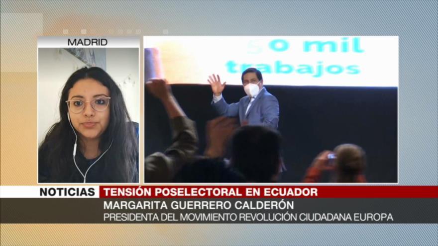 'Hay un show electoral para alejar a ecuatorianos de la política'