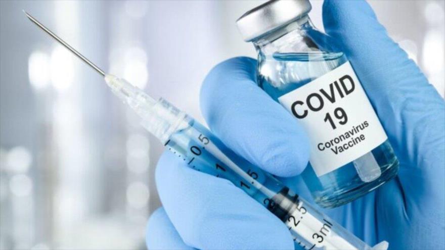 Vacuna contra el nuevo coronavirus, causante de la COVID-19.