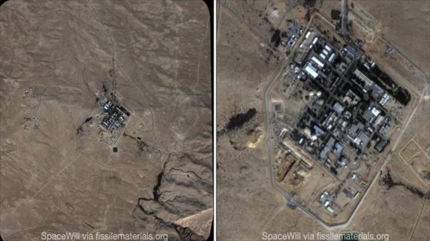 El reactor nucleardeDimona de Israel en los territorios ocupados palestinos, 4 de enero de 2021.