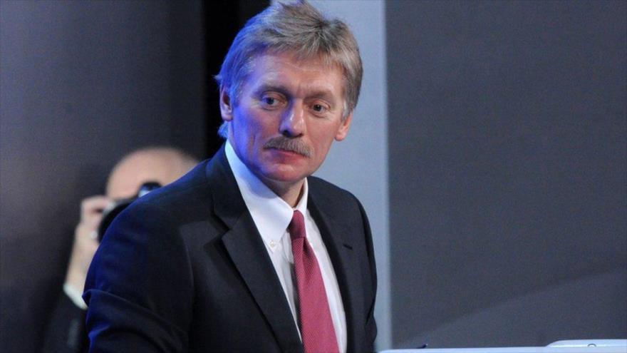 El portavoz de la Presidencia de Rusia, Dmitri Peskov.