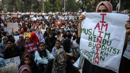 HRW denuncia políticas discriminatorias contra musulmanes en India