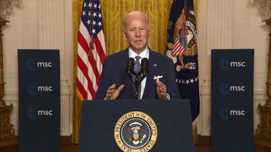 Biden: EEUU está dispuesto a volver al pacto nuclear con Irán